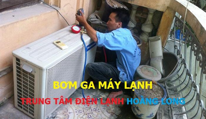 Bơm ga máy lạnh quận Bình Tân