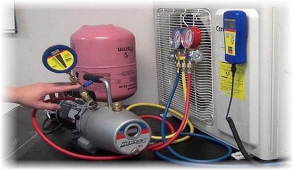 Cách bơm ga cho máy lạnh inverter