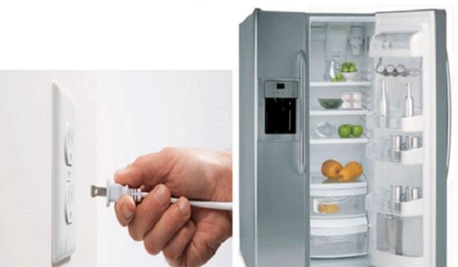 Cách bảo quản và sử dụng tủ lạnh ngắt điện lâu ngày