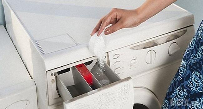 Cách sử dụng và cho bột giặt vào máy giặt