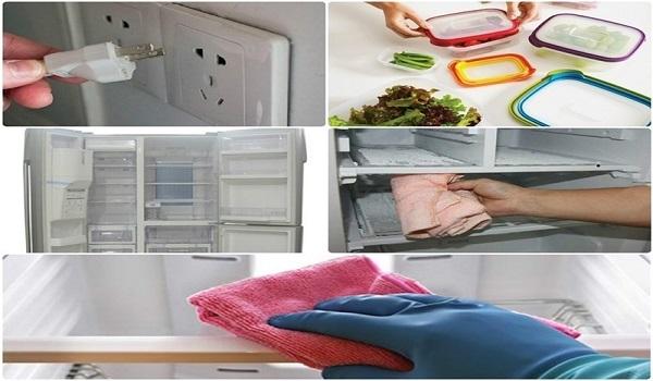 Hướng dẫn cách vệ sinh cho ngăn đá tủ lạnh