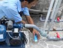 Một số lưu ý khi sử dụng máy bơm nước